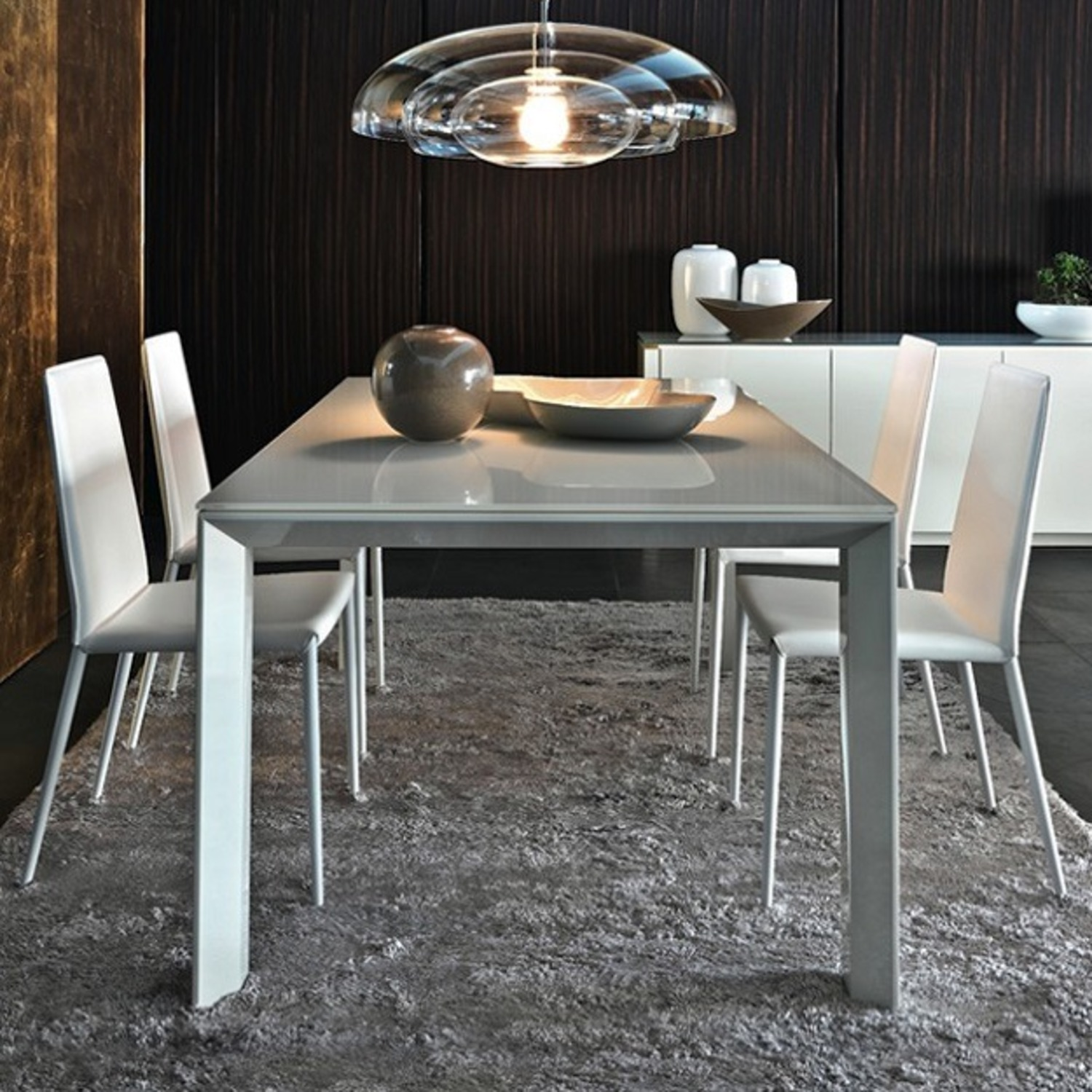 Calligaris Italian Custom Tempered Table - image-1