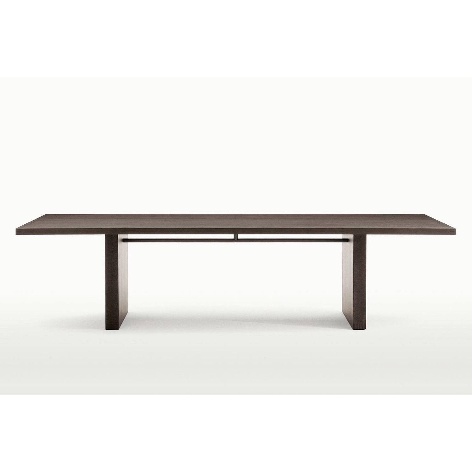 B&B Italia Large Wenge Veneer Dining Table - image-5