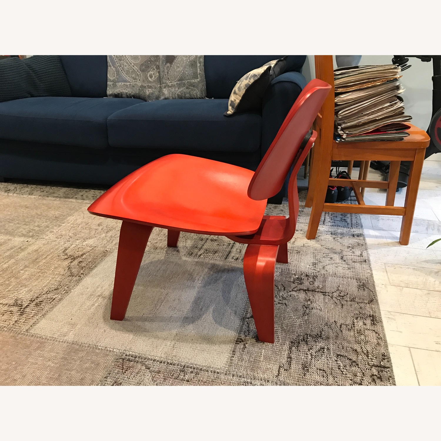 Herman Miller Eames Red Lounge Chair