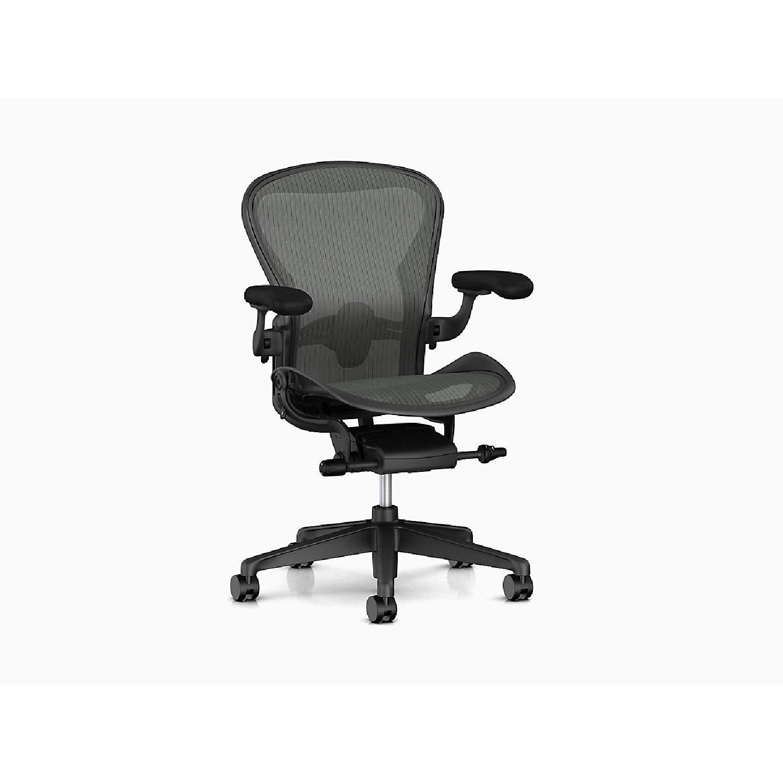 Herman Miller Aeron Chair in Black