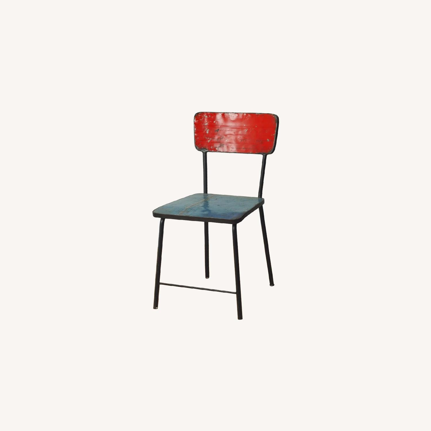 From The Source Pele Recycled Oil Drums Dining Chairs - image-3