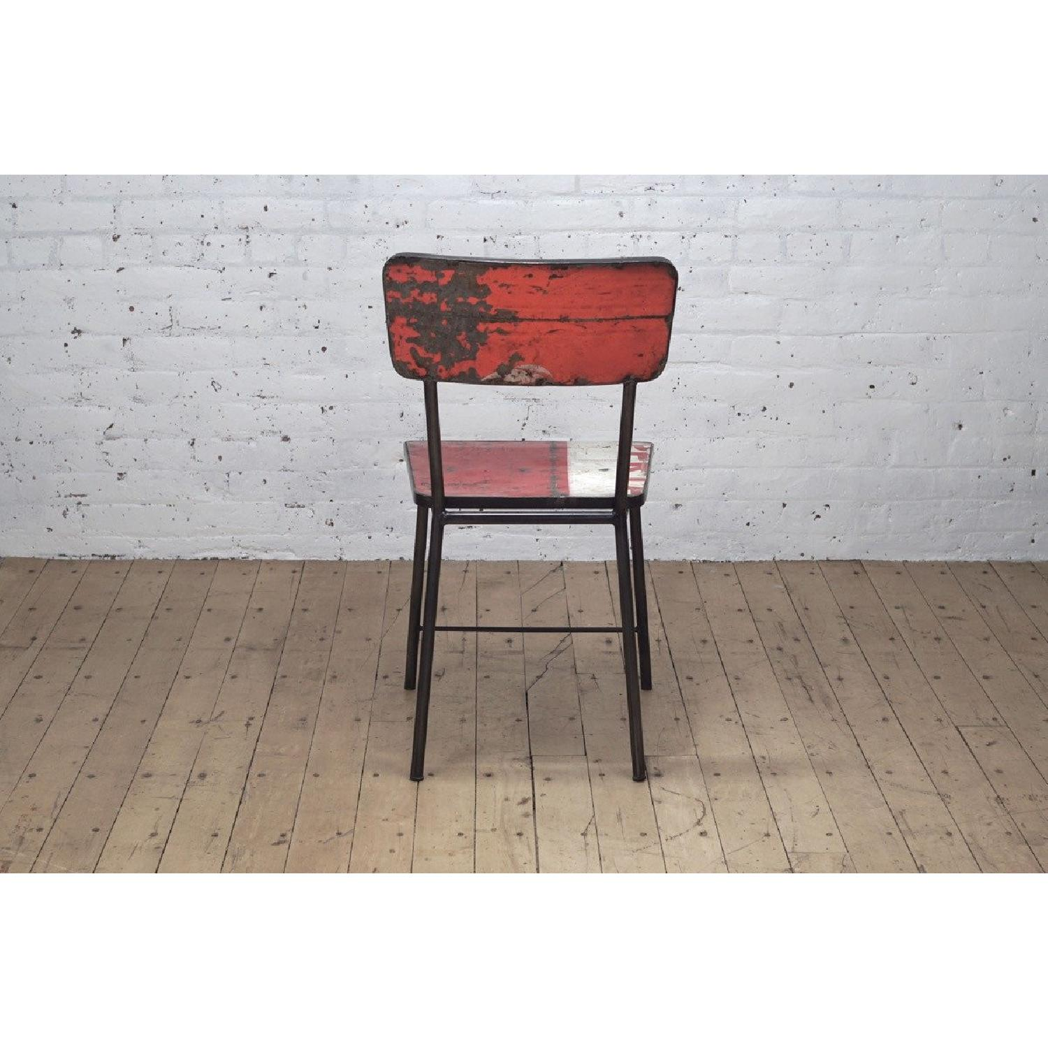 From The Source Pele Recycled Oil Drums Dining Chairs - image-6