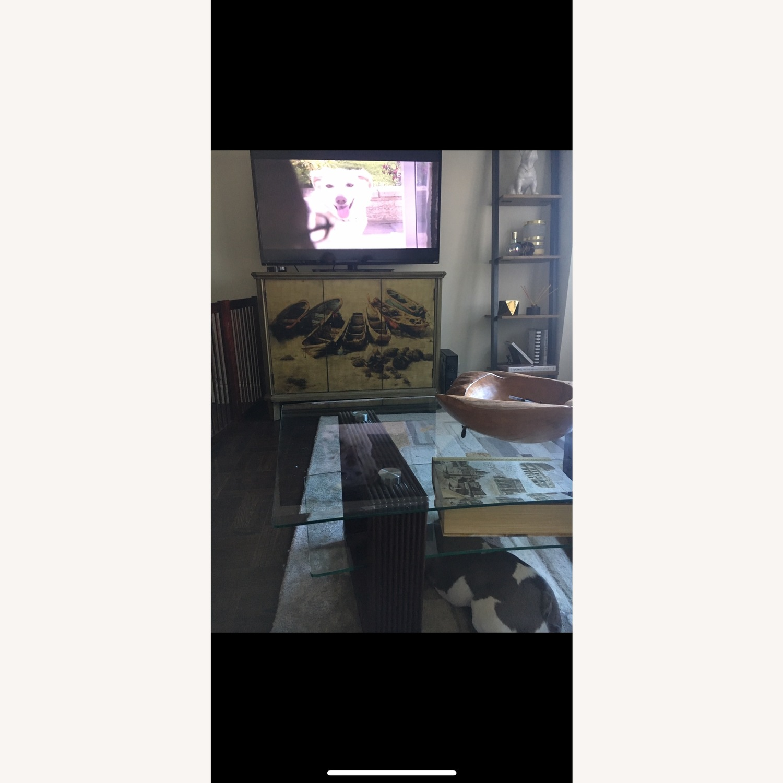 Vintage Printed TV Stand - image-1