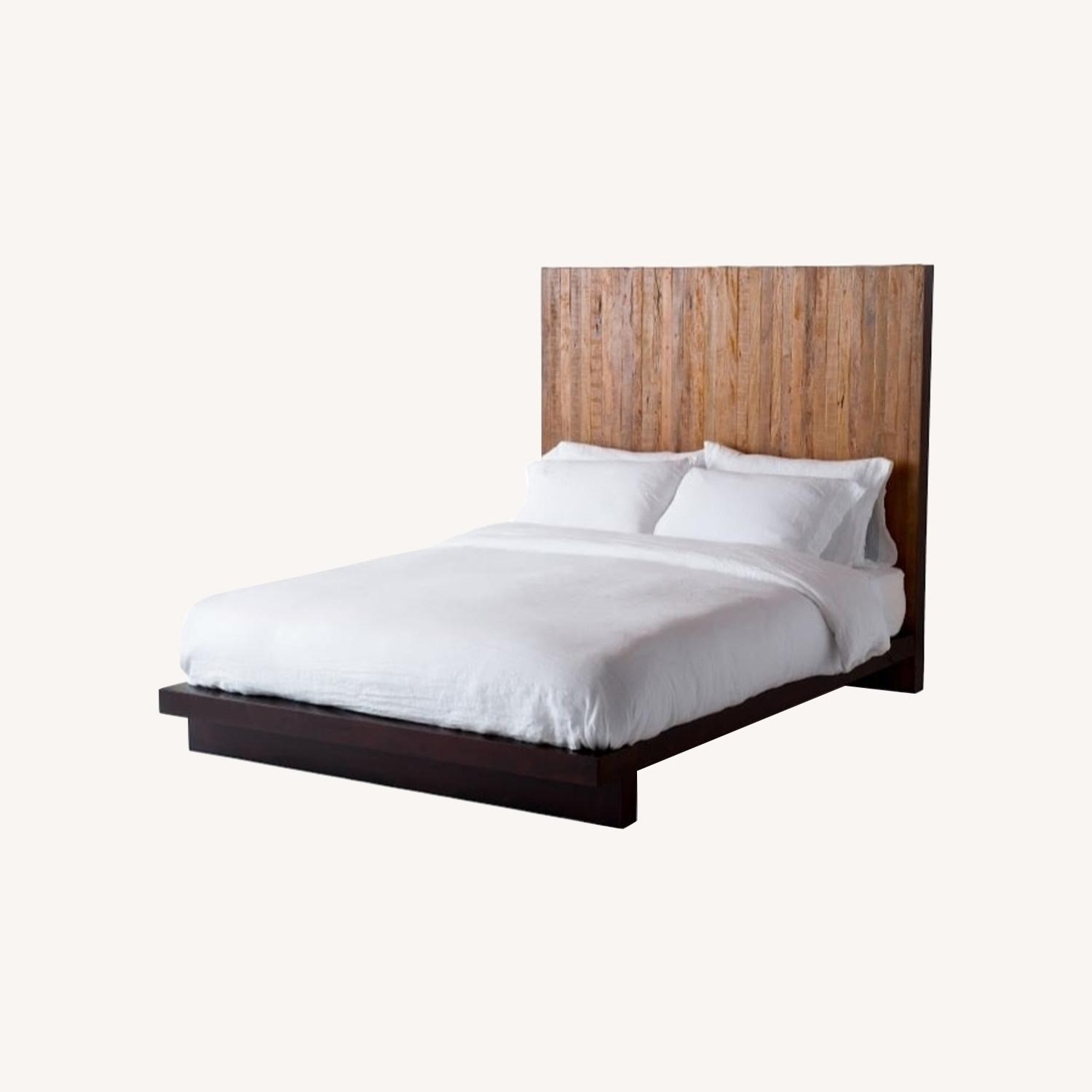 Environment Furniture Reclaimed Brazilian Peroba Wood Bed - image-6