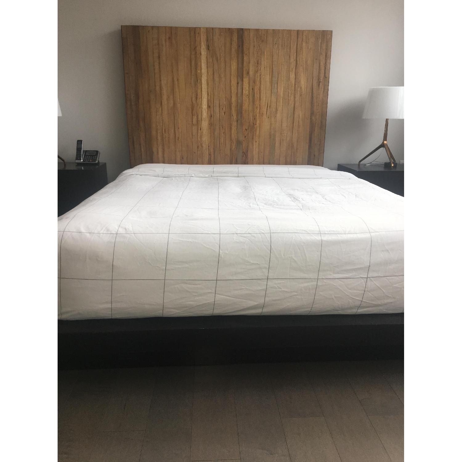 Environment Furniture Reclaimed Brazilian Peroba Wood Bed
