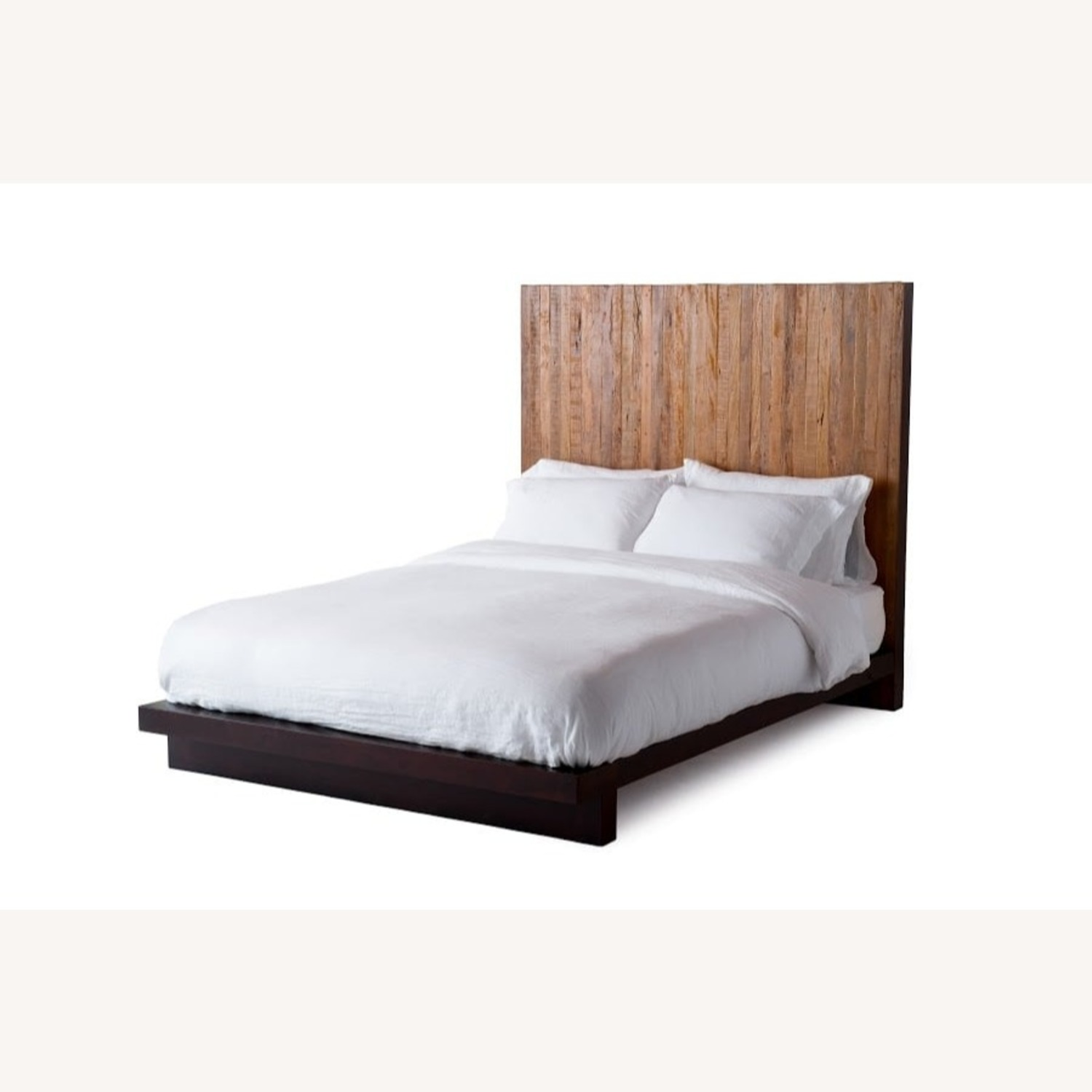 Environment Furniture Reclaimed Brazilian Peroba Wood Bed - image-0