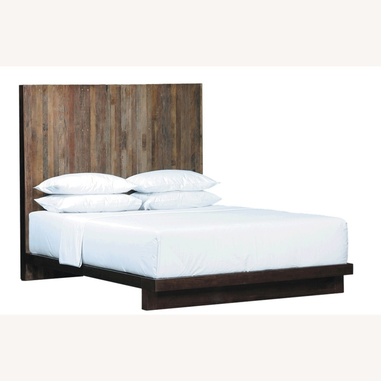 Environment Furniture Reclaimed Brazilian Peroba Wood Bed - image-1