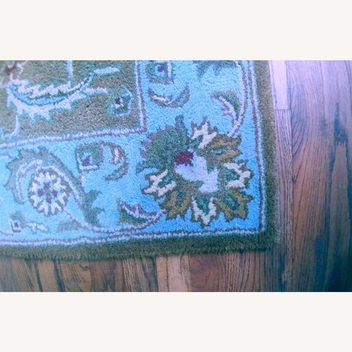 Safavieh Heritage Wool Rug in Blue & Gold