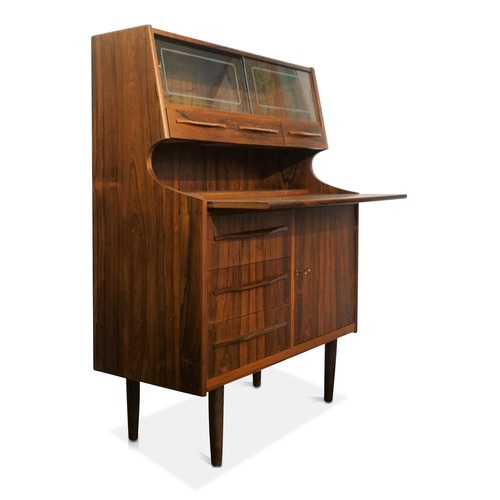 Used Christina Brazilian Rosewood Secretary Desk for sale on AptDeco