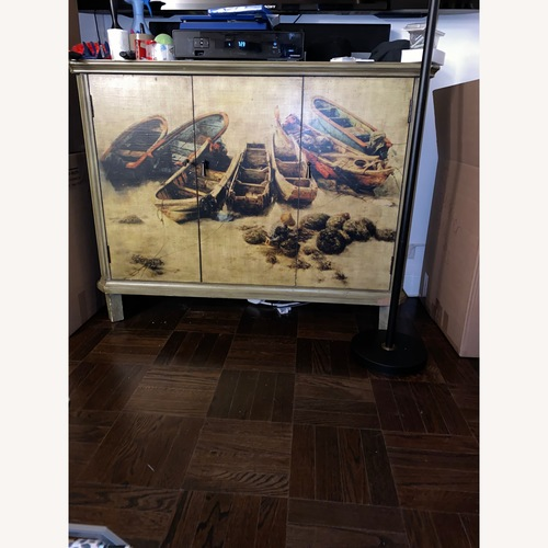 Printed TV Stand