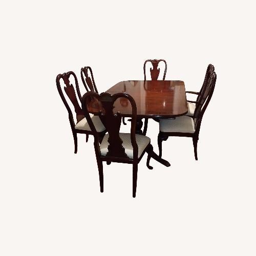 Thomasville Mahogany 7 Piece Dining Set