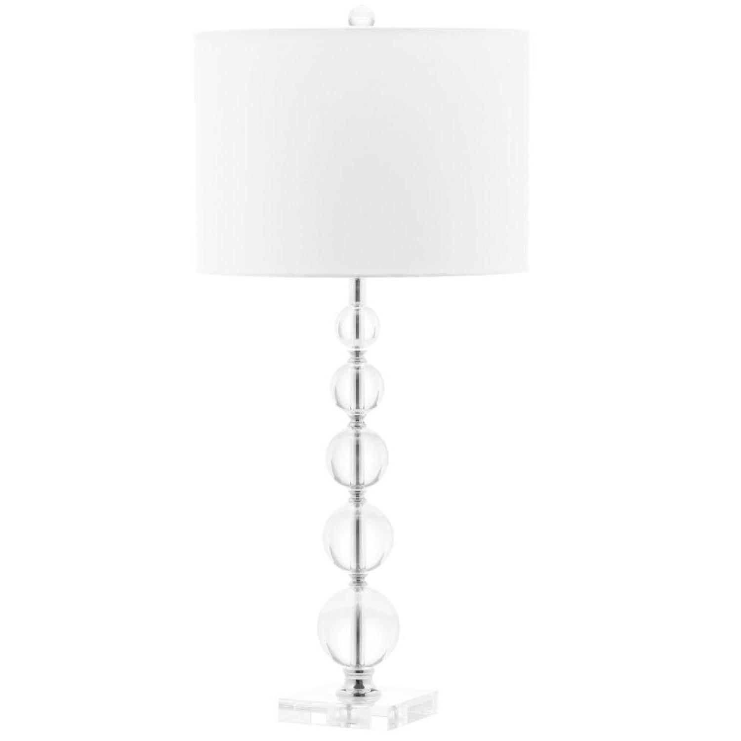 Safavieh Stacked Crystal Table Lamps - image-0