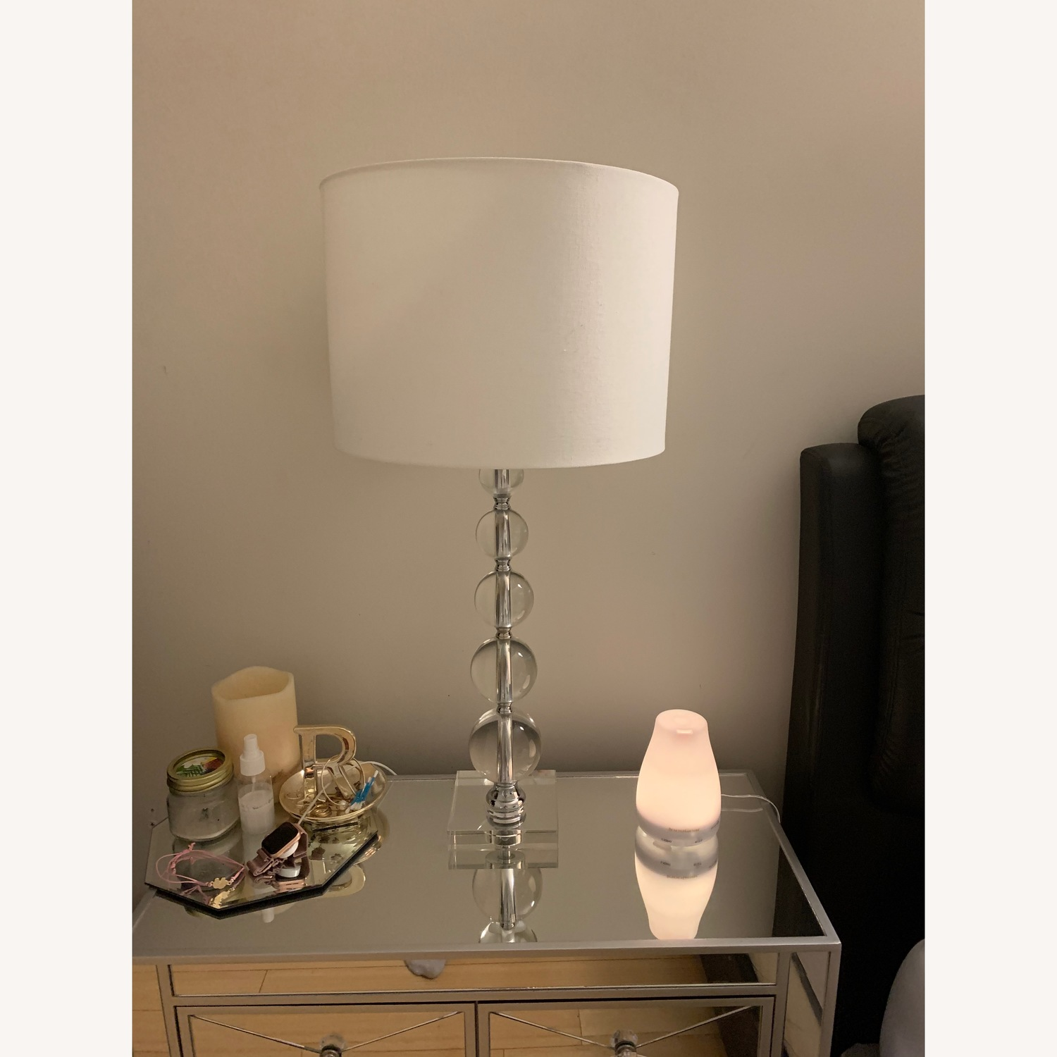 Safavieh Stacked Crystal Table Lamps - image-6