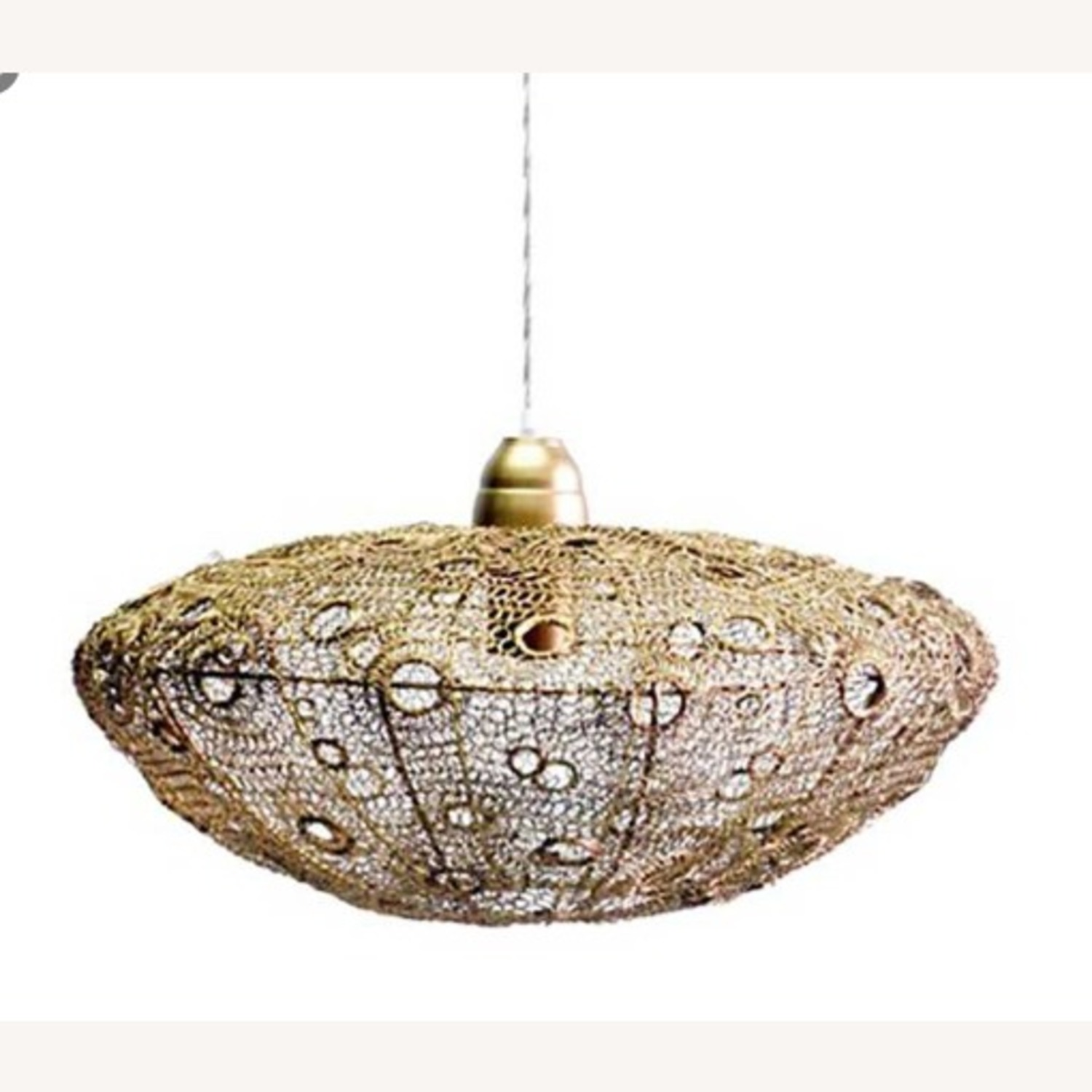 Selamat Designs Vela Stratus Pendant in Antique Brass - image-3