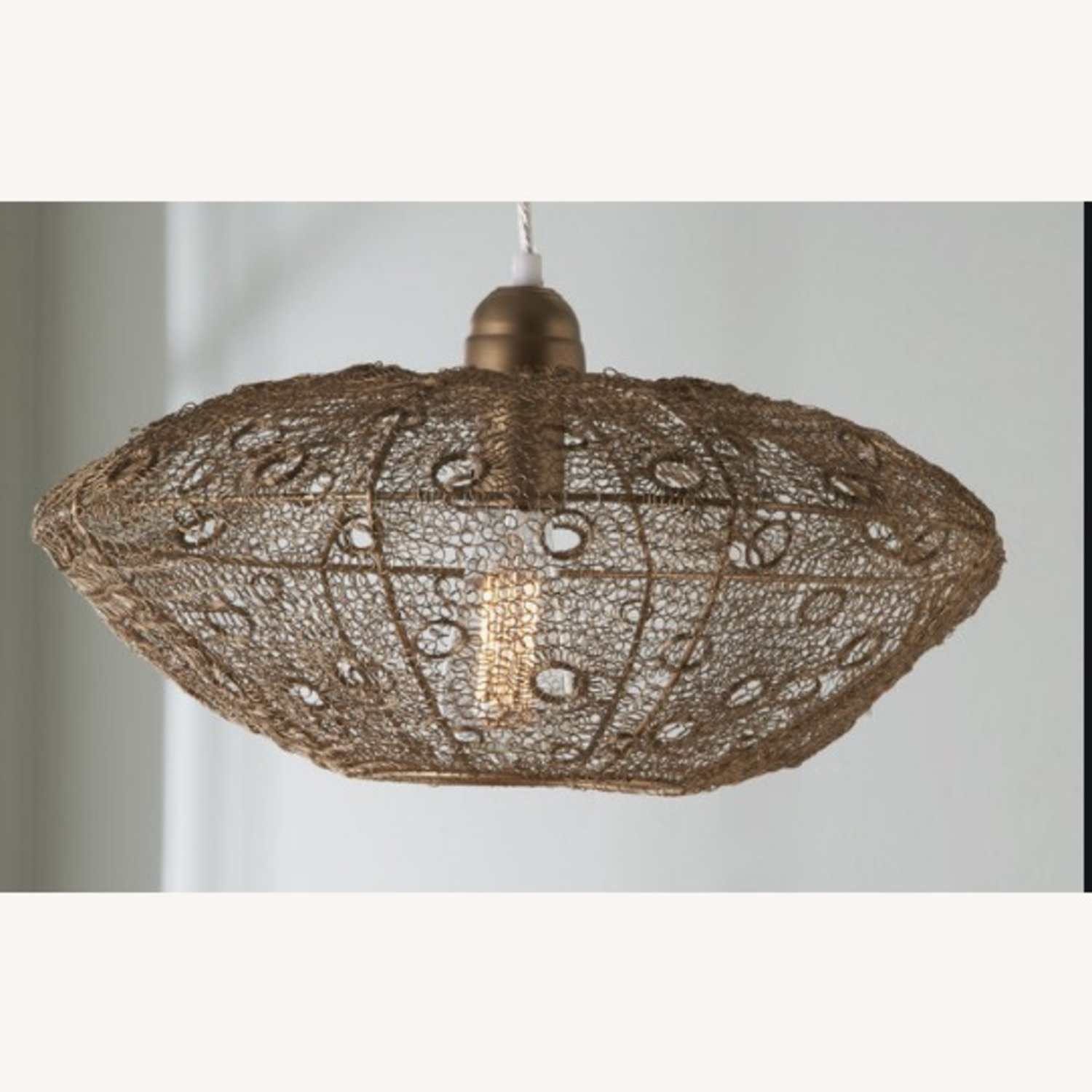 Selamat Designs Vela Stratus Pendant in Antique Brass - image-2