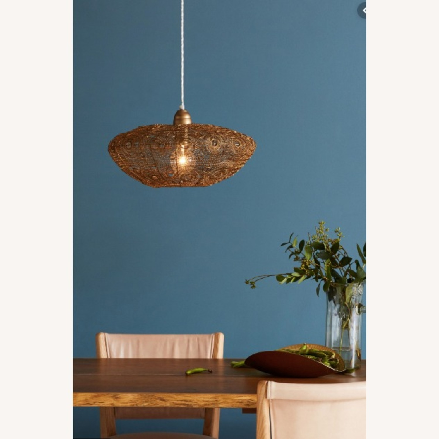 Selamat Designs Vela Stratus Pendant in Antique Brass - image-1