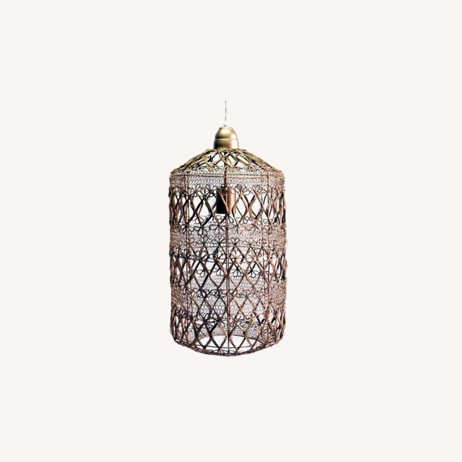 Selamat Designs Vela Pendant in Antique Brass - image-0