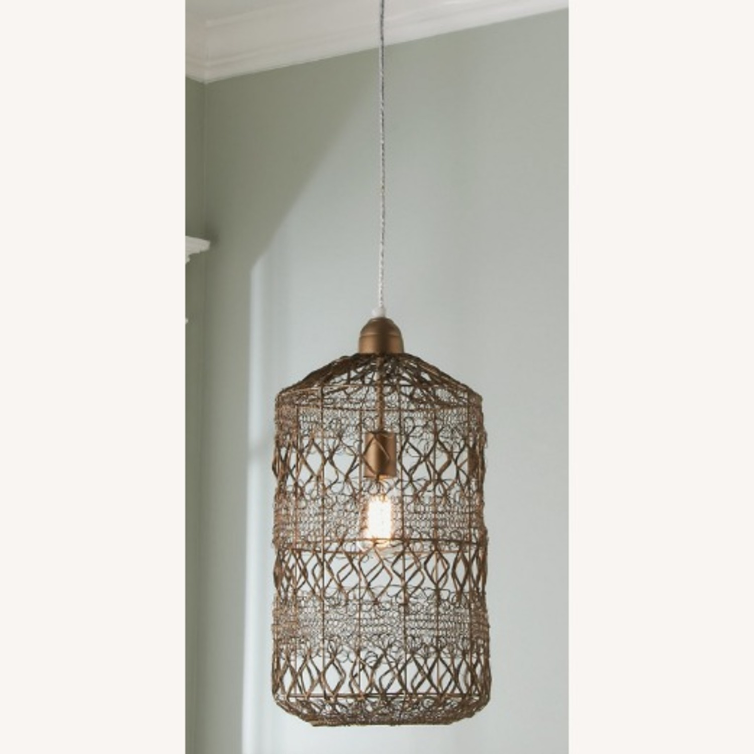 Selamat Designs Vela Pendant in Antique Brass - image-2