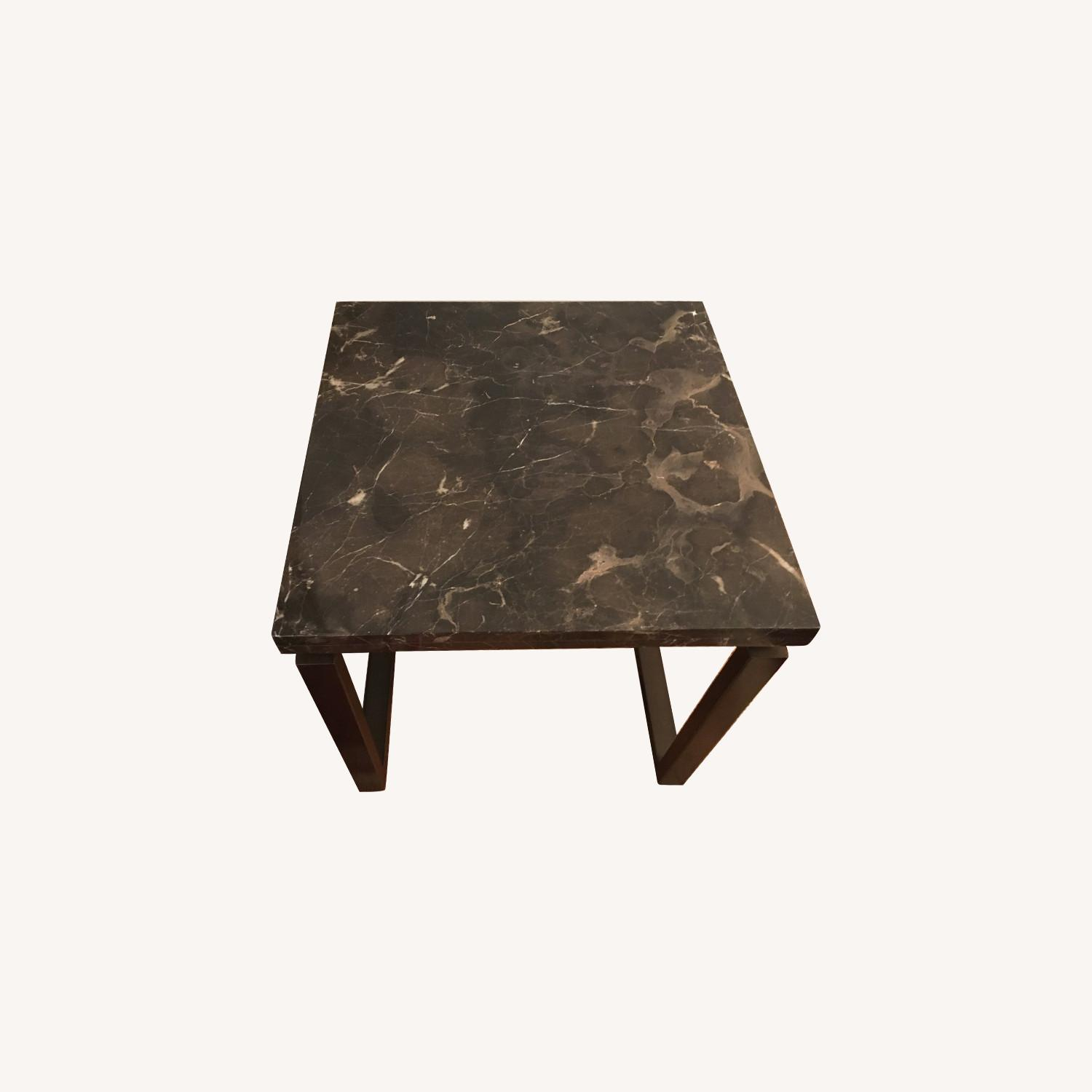 Safavieh Grey Marble End Table