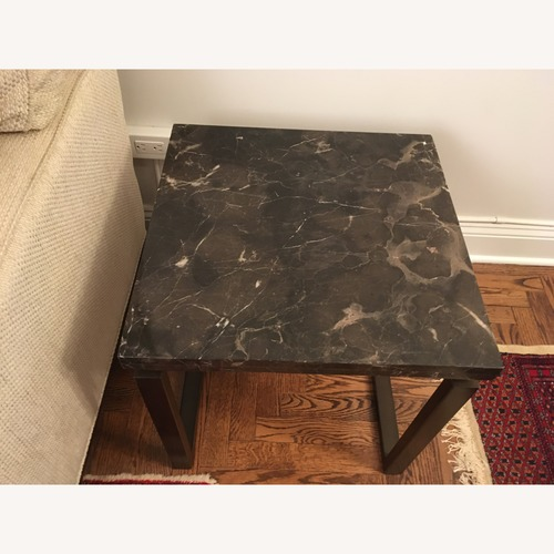 Safavieh Grey Marble End Table