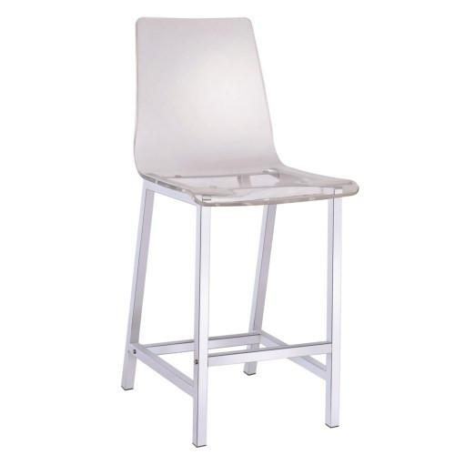 Used Coaster Fine Furniture Acrylic Counter Height Stools for sale on AptDeco