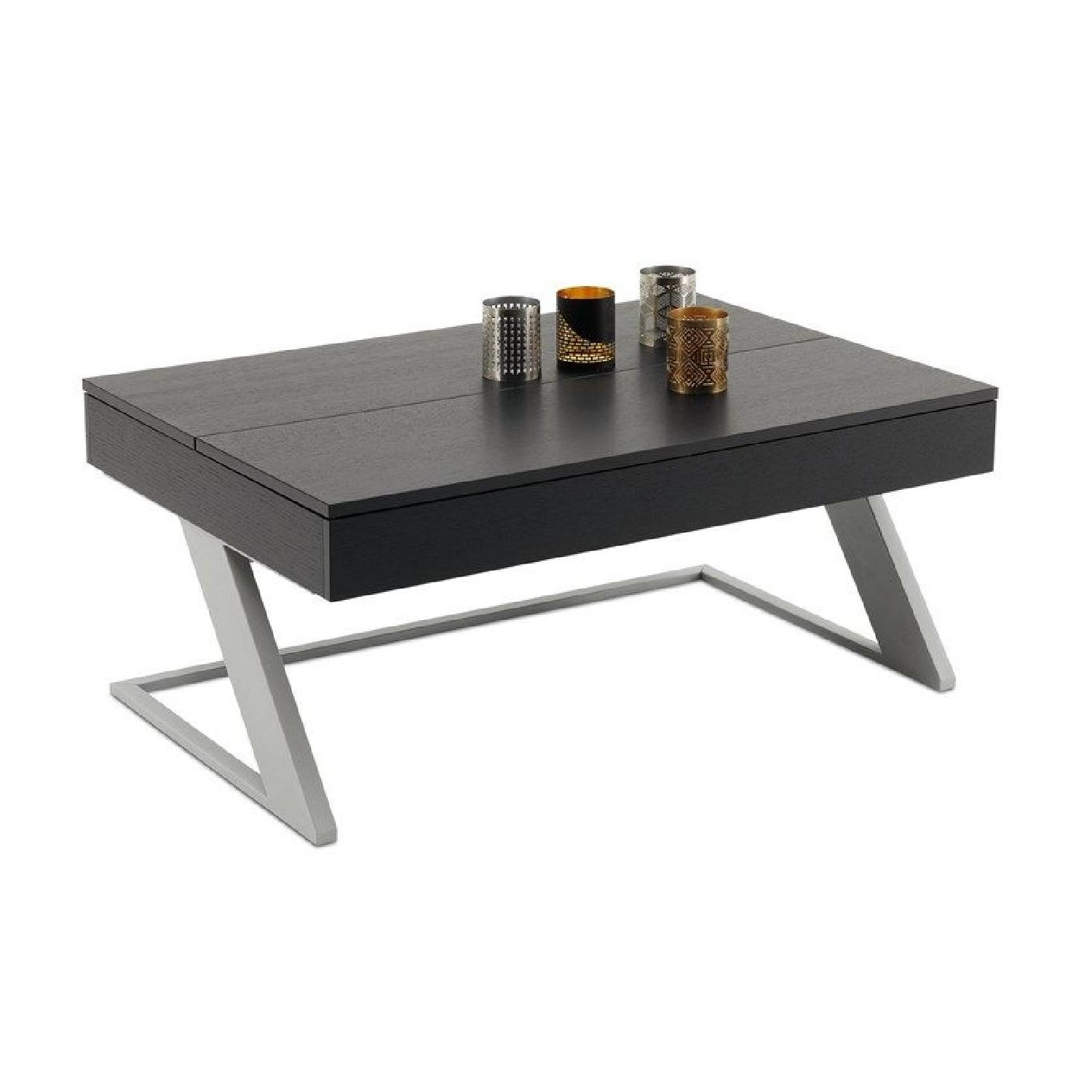 BoConcept Black Coffee Table w/ Storage