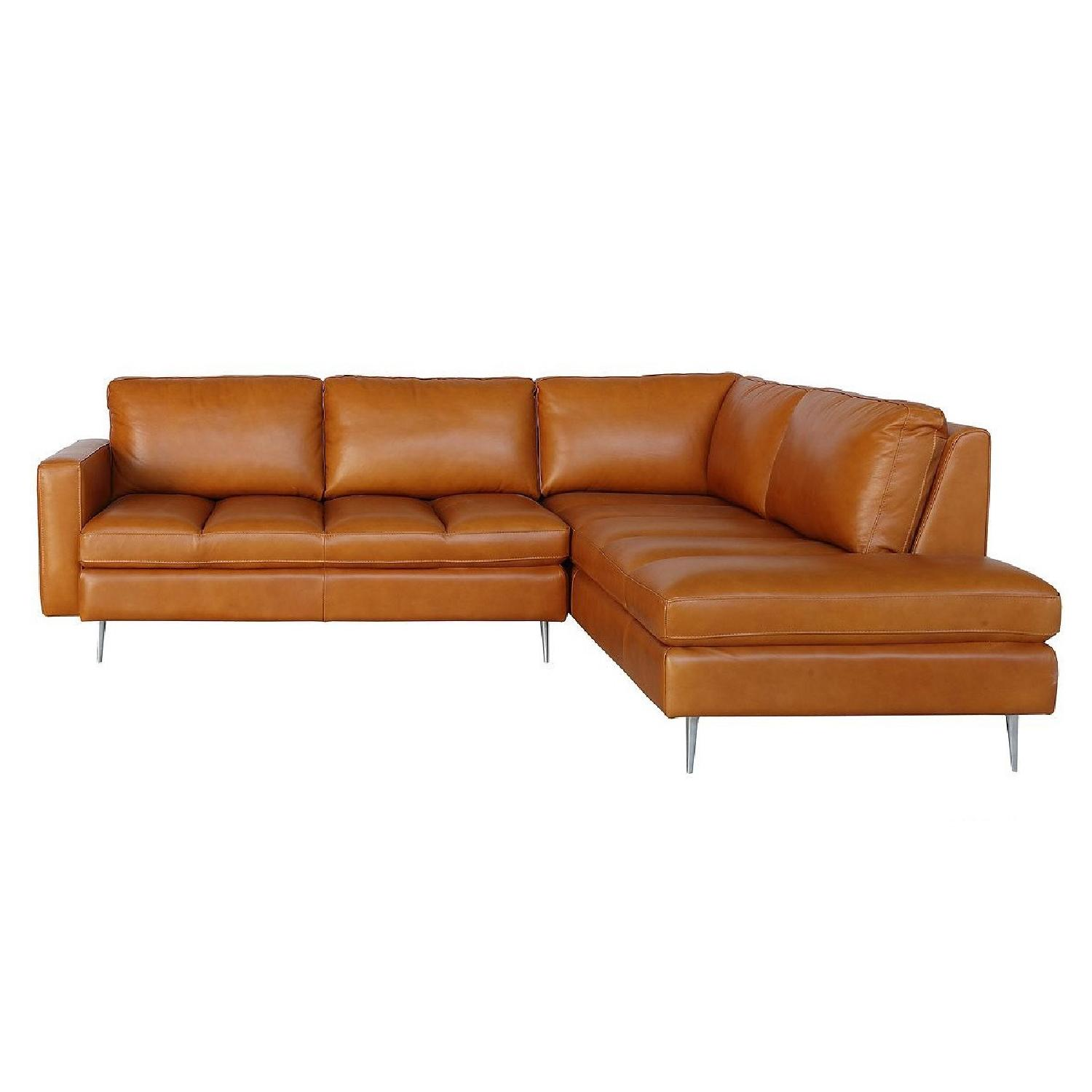 Chateau D'Ax Alexander Sectional Sofa + Chair & Ottoman - image-0