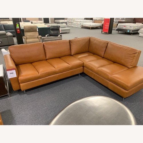 Chateau D'Ax Alexander Sectional Sofa + Chair & Ottoman