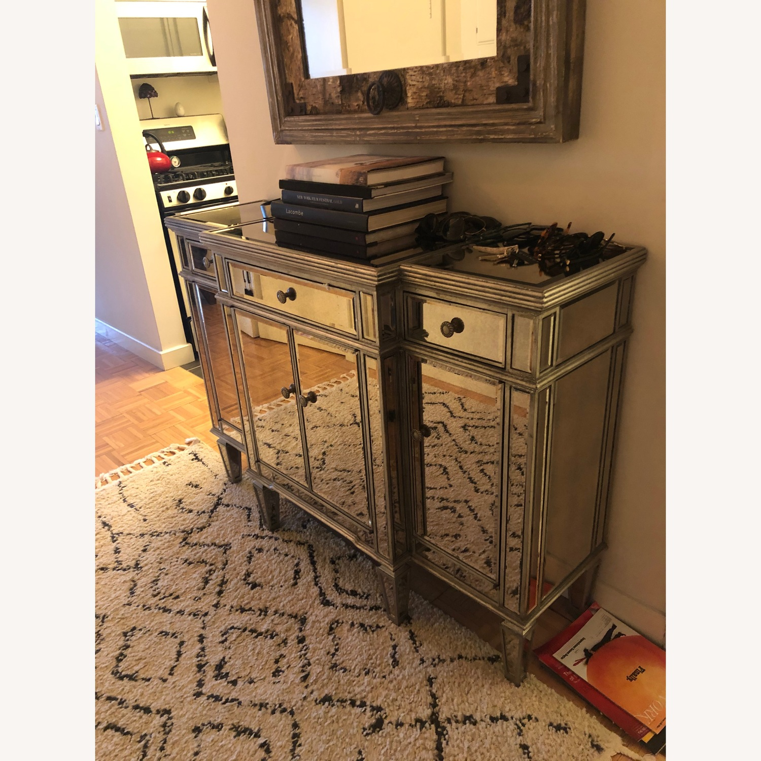 Pier 1 Mirrored Sideboard - image-1