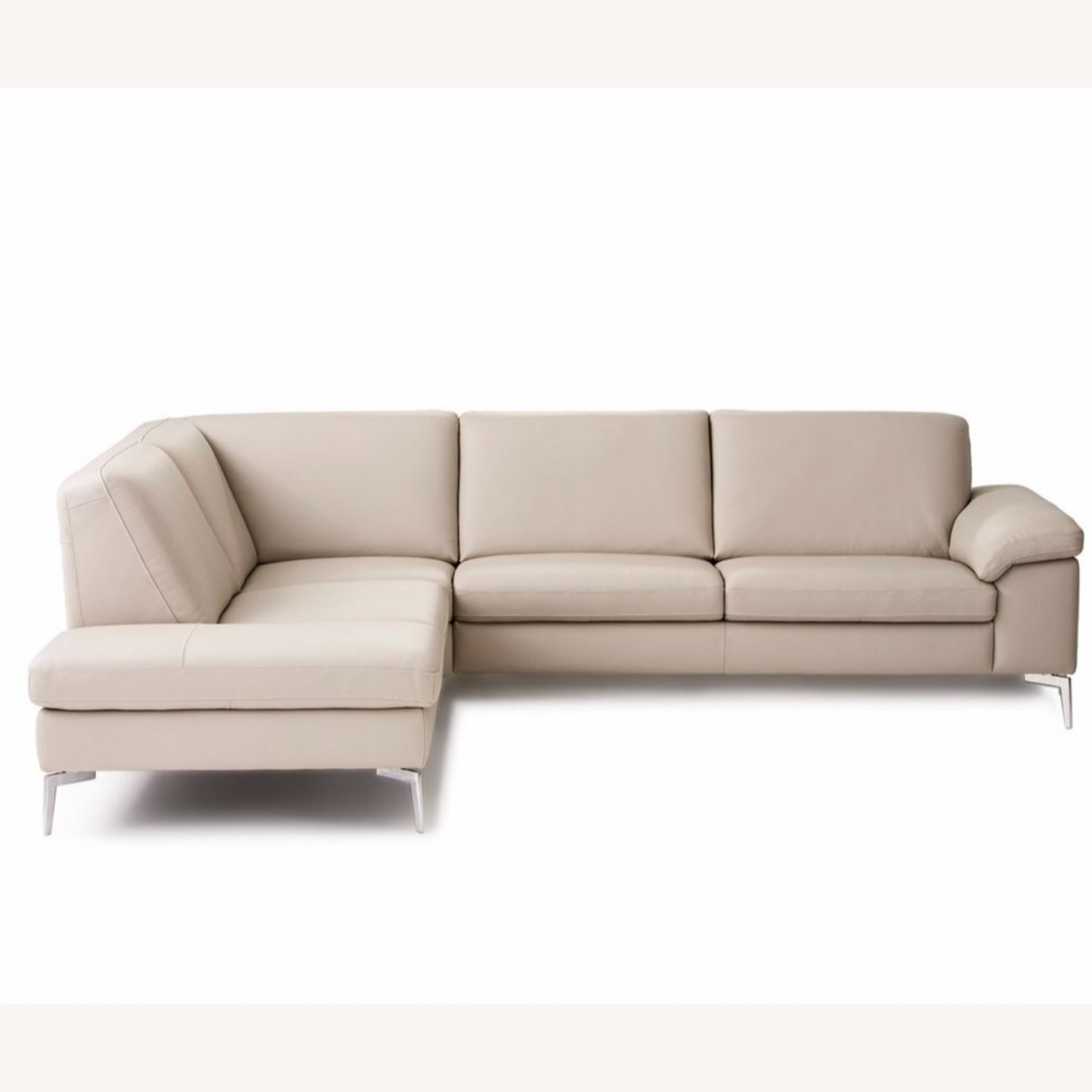 Nicoletti Pascal Leather Sectional Sofa