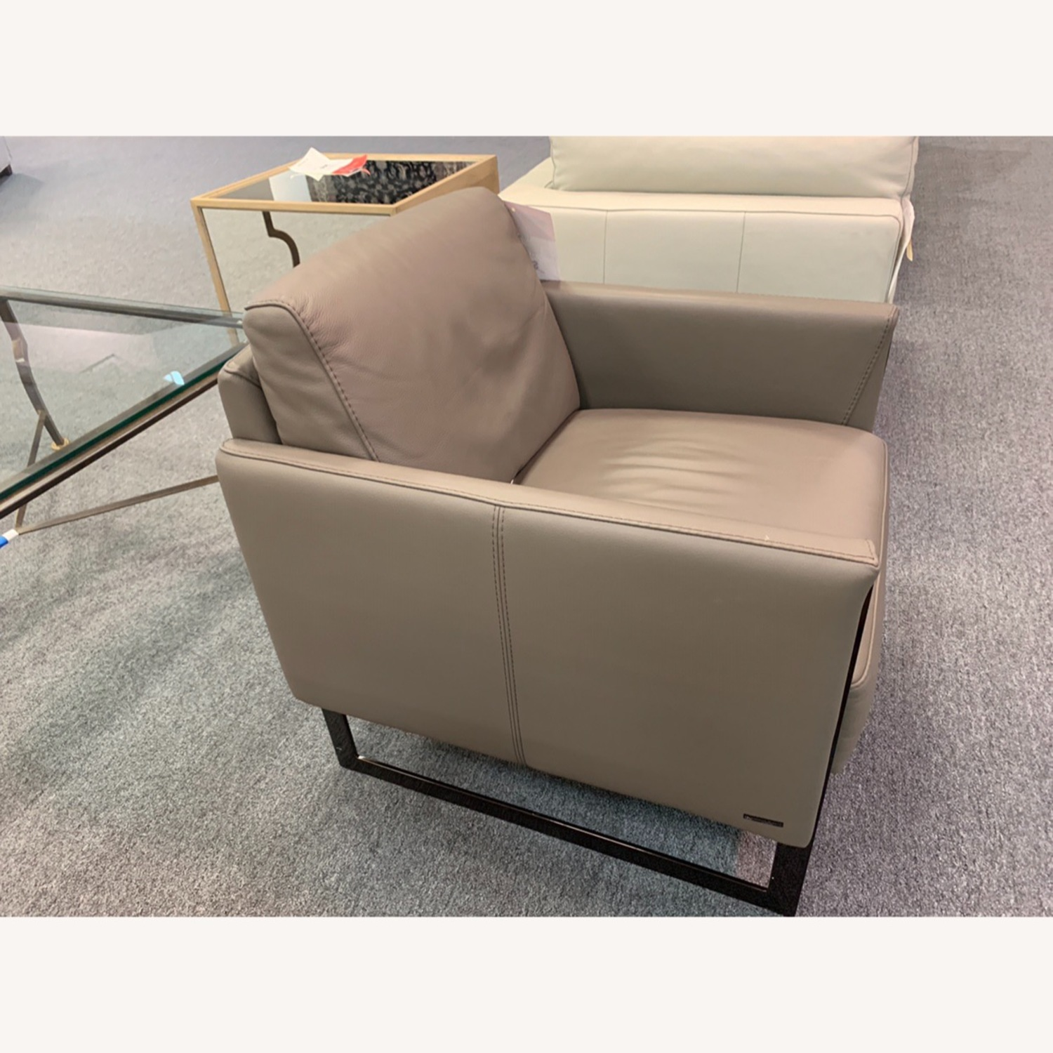 Nicoletti Vincent Leather Sectional Sofa - image-6