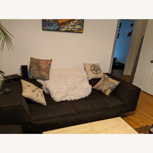 BoConcept Grey Sofa & Ottoman