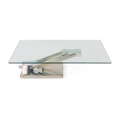Lazzoni Modern Glass Coffee Table