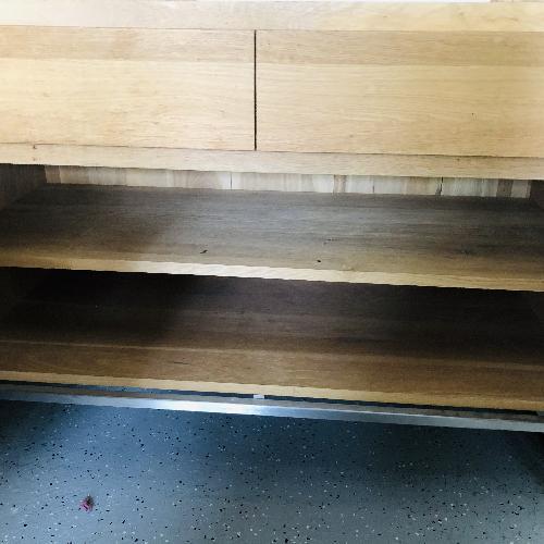 ABC Carpet & Home Wooden Storage Credenza