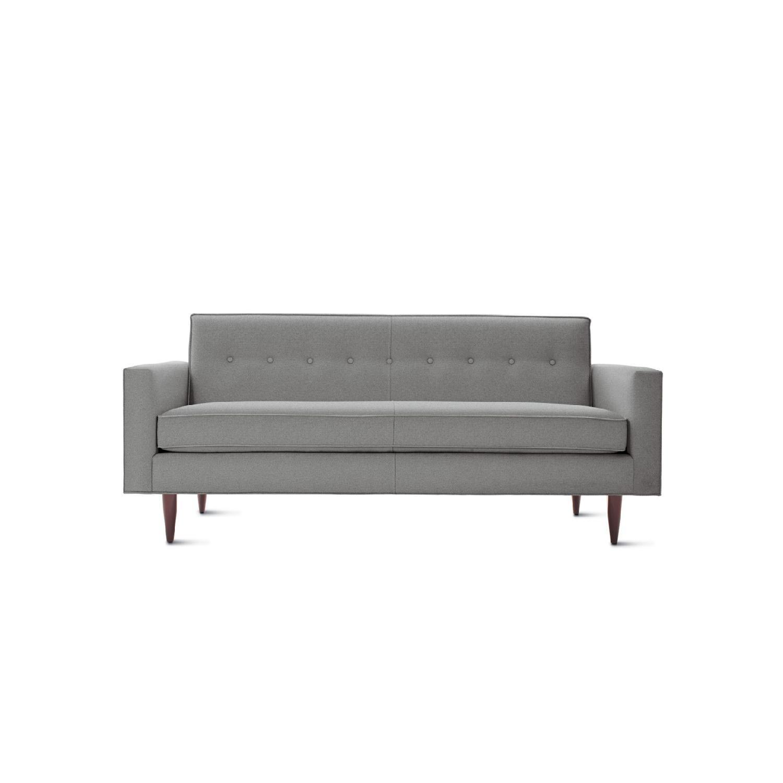 Design within Reach Bantam Sofa + Cocktail Ottoman