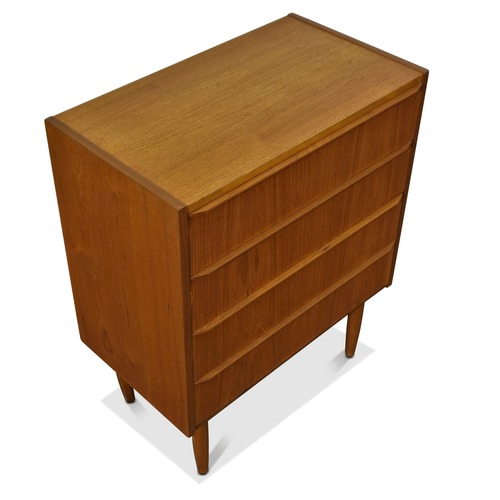 Used Vintage Gegn Danish Teak Low Dresser for sale on AptDeco