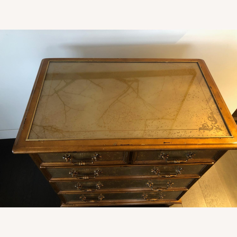 Theodore Alexander Antique Sheen Chest - image-3