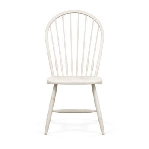 Ethan Allen White Dining Side Chairs