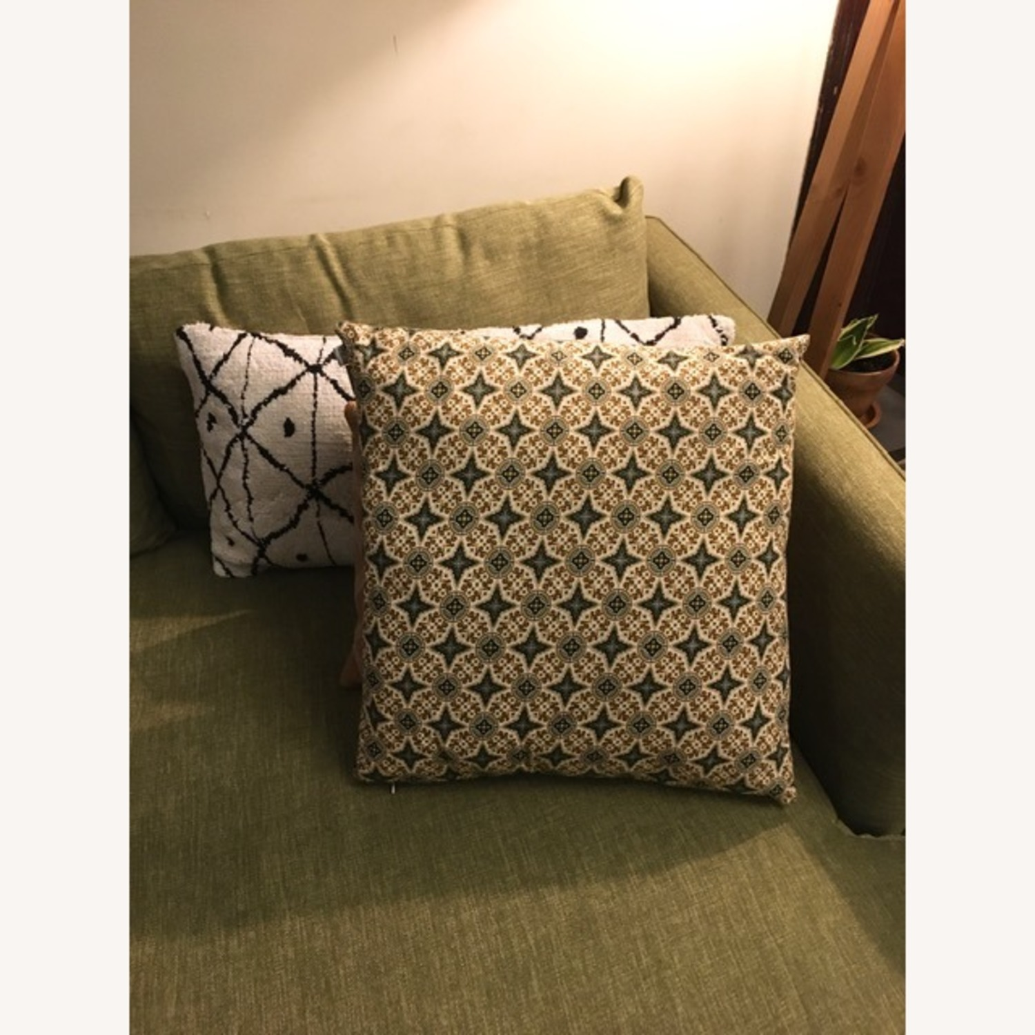 Funko Feather Throw Pillow w/ Balinese Cover