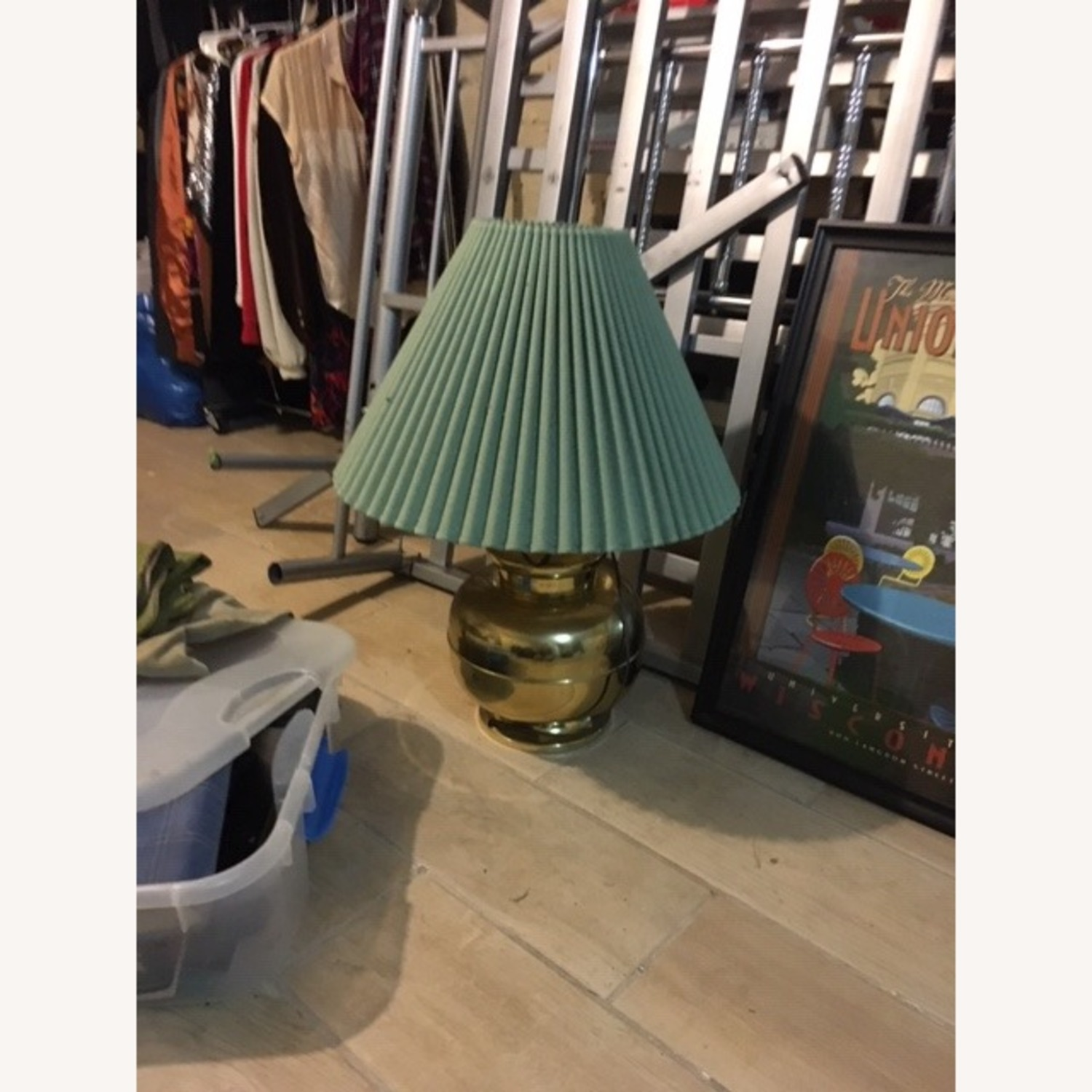 Anthropologie Vintage Table Lamp - image-2