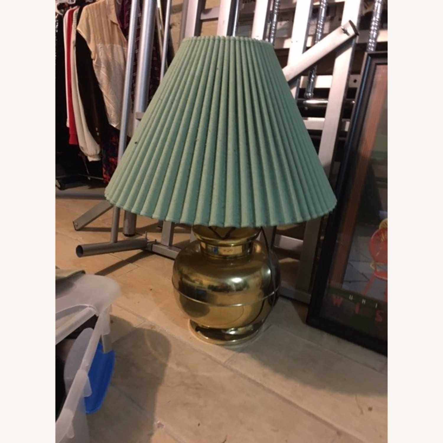 Anthropologie Vintage Table Lamp - image-1