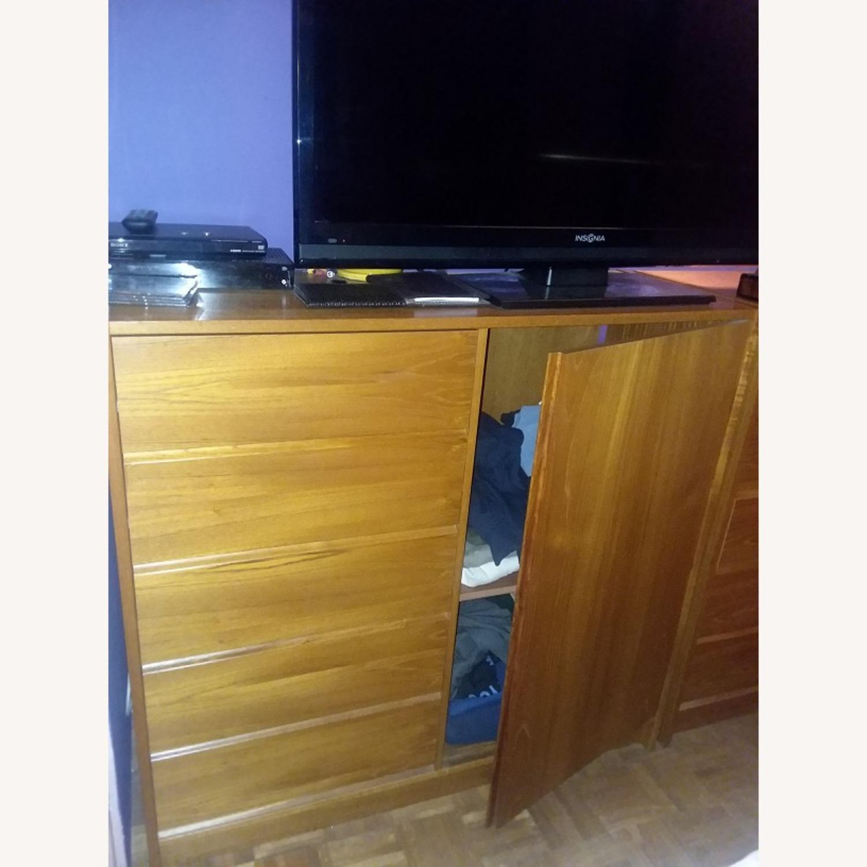 Bloomingdale's Bon Marche Teak Dresser w/ Cabinet