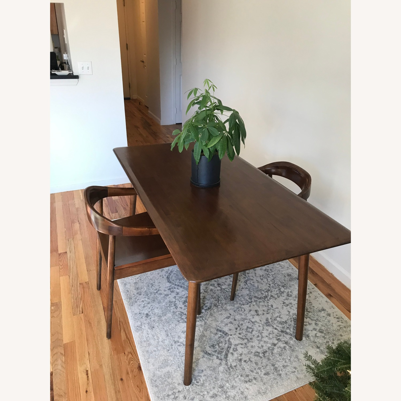 West Elm Dining Table Set - image-2