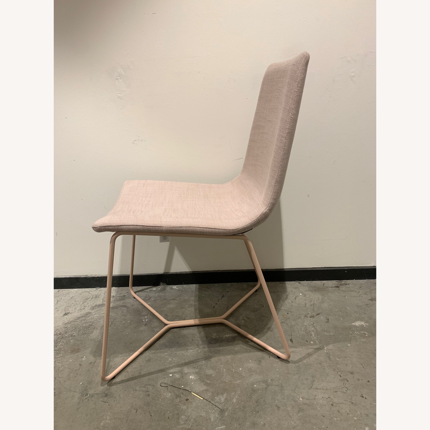 West Elm Slope Upholstered Dining Chair