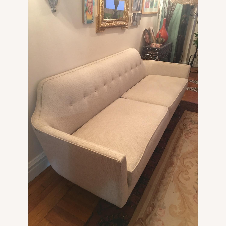 Crate & Barrel Mid Century Style Sofa