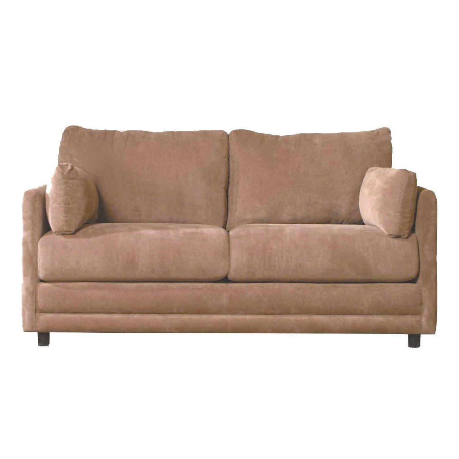 Jennifer Convertibles Beige Sleeper Sofa - image-0