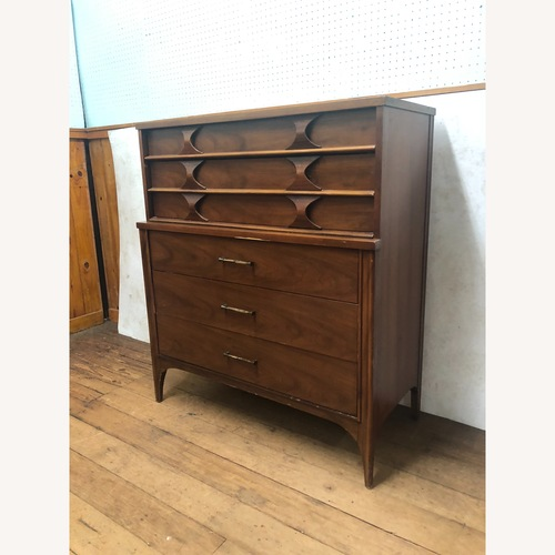 Used Kent Coffey Perspecta Mid Century Highboy Dresser for sale on AptDeco