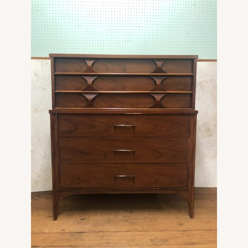 Used Kent Coffey Perspecta Mid Century Highboy Dresser for sale on AptDeco