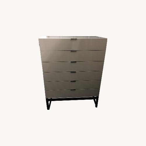 Used Minotti Harvey Line Vertical 6-Drawer Chest for sale on AptDeco