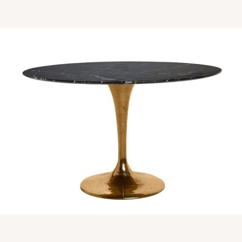 Organic Modernism Round Dining Table
